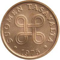 Suomi 1975 5 Penniä UNC
