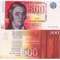 Suomi 1986 500 Markkaa Litt A P120 KL3