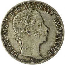 Itävalta 1860 1 Florin HOPEA KL4