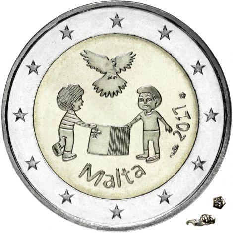 Malta 2017 2 € Rauha MdP UNC