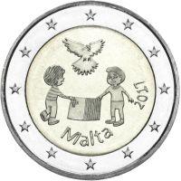 Malta 2017 2 € Rauha UNC