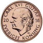 Ruotsi 2016 1 Kruunu UNC