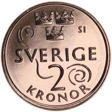 Ruotsi 2016 2 Kruunua UNC