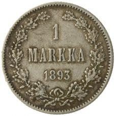 Suomi 1893 1 Markka KL4