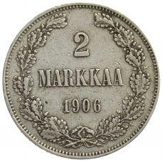 Suomi 1906 2 Markkaa KL6