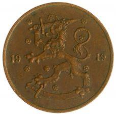 Suomi 1919 5 Penniä KL4