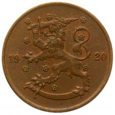 Suomi 1920 5 Penniä KL4