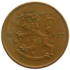 Suomi 1927 5 Penniä KL4