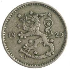 Suomi 1929 1 Markka KL4