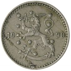Suomi 1930 1 Markka KL4