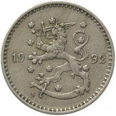 Suomi 1932 1 Markka KL4