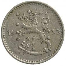 Suomi 1933 1 Markka KL4
