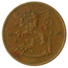 Suomi 1935 5 Penniä KL4