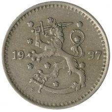 Suomi 1937 1 Markka KL4