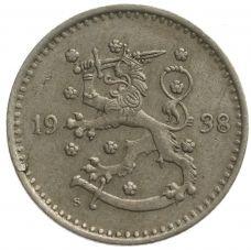 Suomi 1938 1 Markka KL4