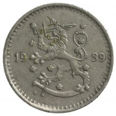 Suomi 1939 1 Markka KL4