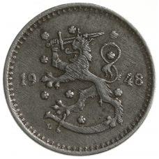 Suomi 1948 1 Markka KL2