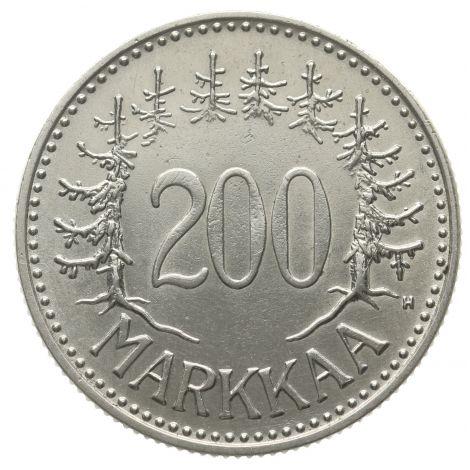Suomi 1957 200 Markkaa KL7-8