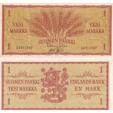 Suomi 1963 1 Markka P98a Ä-Sarja