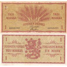 Suomi 1963 1 Markka P98a AA-Sarja