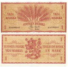 Suomi 1963 1 Markka P98a AI-Sarja