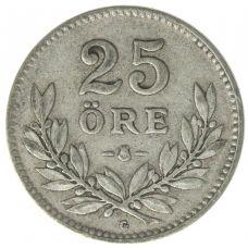 Ruotsi 1910-1941 25 Öre HOPEA KL4-6