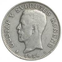 Ruotsi 1910-1942 1 Kruunu HOPEA KL4-6