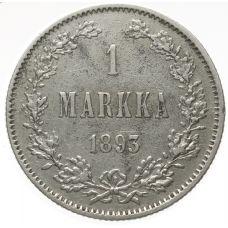 Suomi 1893 1 Markka KL6