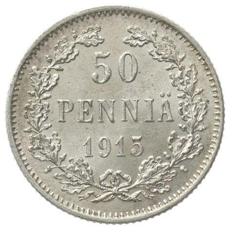 Suomi 1915 50 Penniä KL8