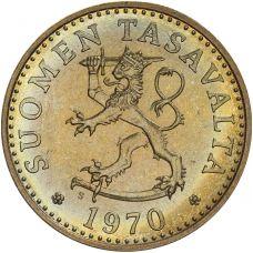 Suomi 1970 20 Penniä KL8-9