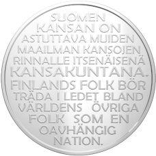 Suomi 2017 20 € Suomen Itsenäisyys 1917-2017 PROOF