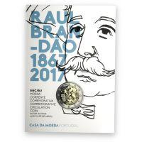 Portugali 2017 2 € Raul Brandão 150v COINCARD