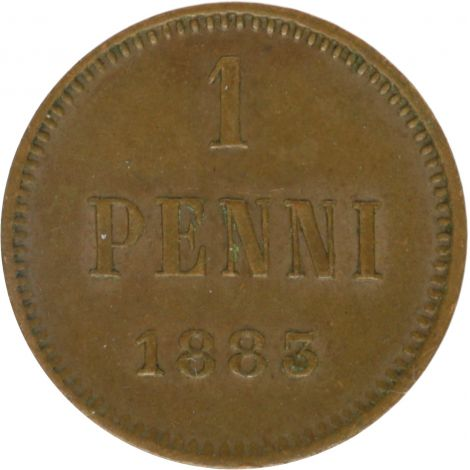 Suomi 1883 1 Penni KL4-5