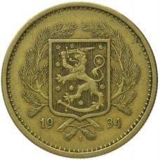 Suomi 1934 20 Markkaa KL5-6