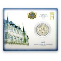Luxemburg 2017 2 € Guillaume III 200 vuotta COINCARD