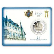 Luxemburg 2018 2 € Perustuslaki 150 vuotta COINCARD