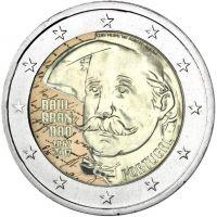 Portugali 2017 2 € Raul Brandão 150v VÄRITETTY