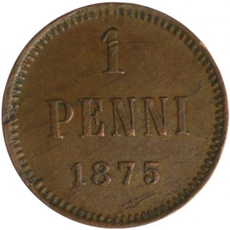 Suomi 1875 1 Penni KL4