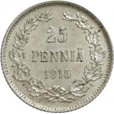 Suomi 1915 25 Penniä KL8