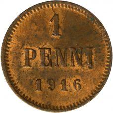 Suomi 1916 1 Penni KL7