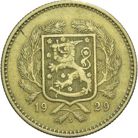 Suomi 1929 10 Markkaa KL5