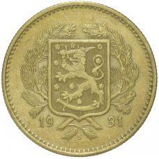 Suomi 1931 10 Markkaa KL5
