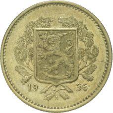 Suomi 1936 10 Markkaa KL6-7