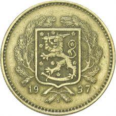 Suomi 1937 10 Markkaa KL6