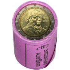 Italia 2010 2 € Cavour RULLA
