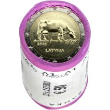 Latvia 2016 2 € Maatalousala RULLA