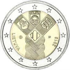 Liettua 2018 2 € Baltian maat 100 vuotta UNC