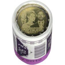 Luxemburg 2012 2 € Royal Wedding RULLA
