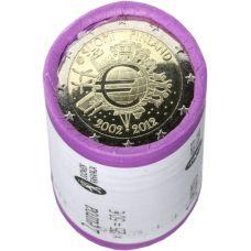 Suomi 2012 2 € Euro 10 vuotta RULLA