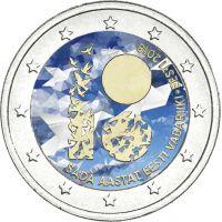 Viro 2018 2 € Itsenäisyys 100 vuotta VÄRITETTY